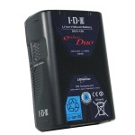 IDX 14.4V 91Wh High Load V-Mount Rechargeable Lithium Ion Battery with 2 x D Tap + USB O/P