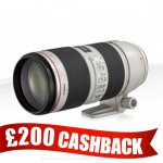 canon EF 70-200mm f2.8L IS II USM3 CASHBACK